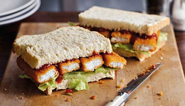 Fishstick Sandwich