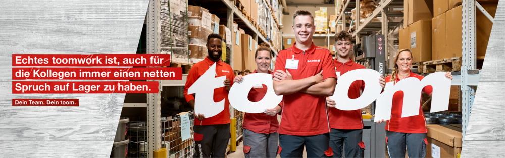 Ausbildung bei toom - Kaufmann im Einzelhandel - Bereich Logistik