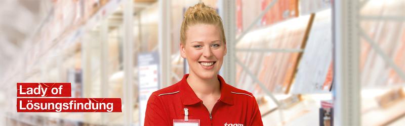 Ausbildung bei toom - Kauffrau im Einzelhandel - Bereich Baumarkt